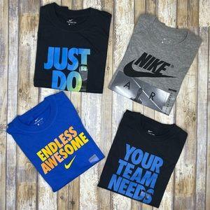 NWT Nike Graphic Tee Lot Set Boys' M